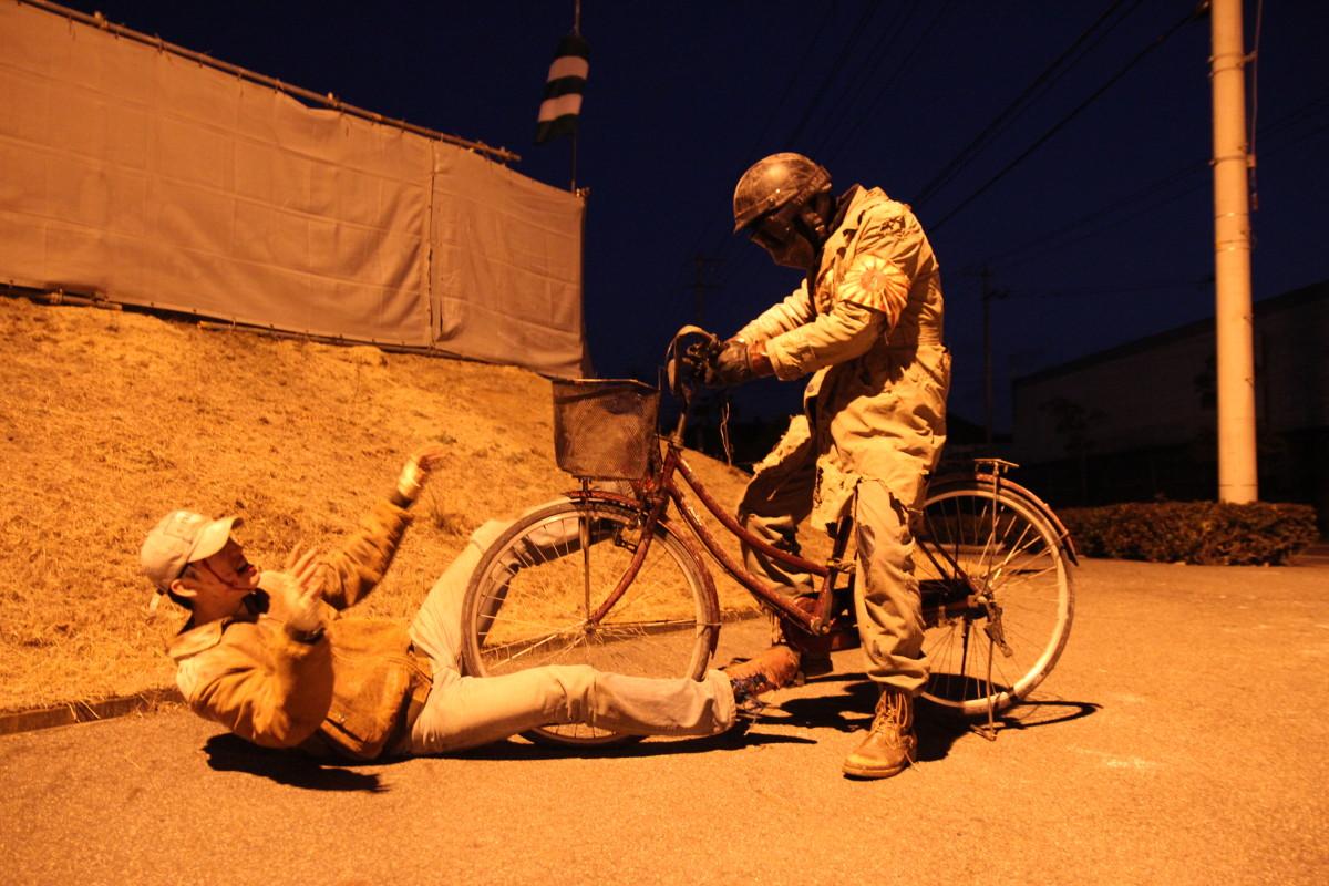 サイボーグ自転車アタック