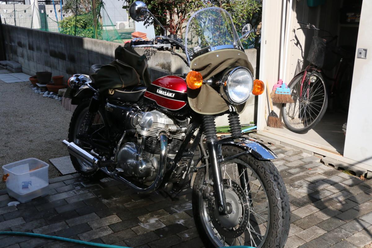 W650洗車