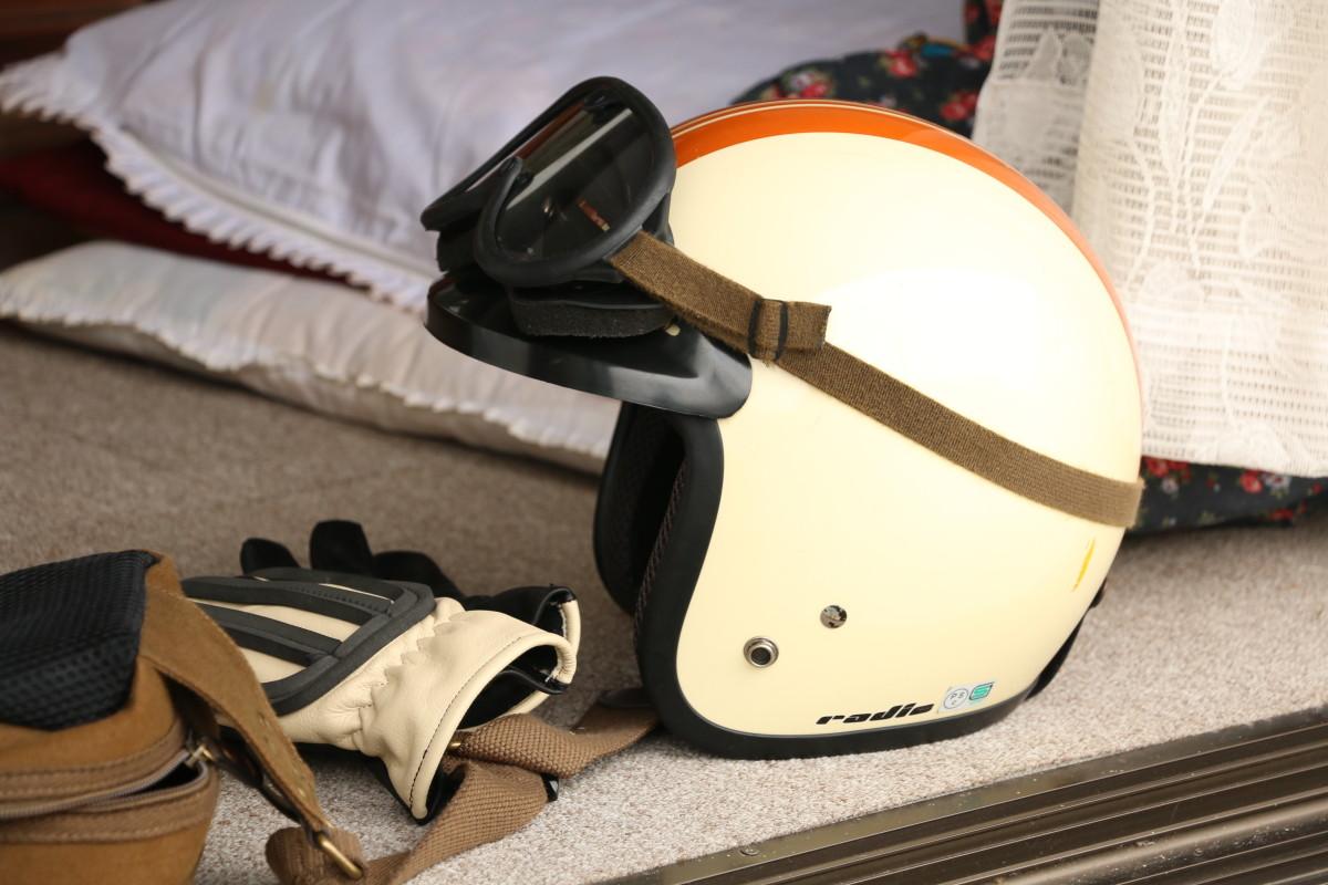 ジェットヘルメット ゴーグル