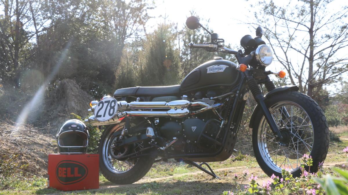 スクランブラー ヘルメット