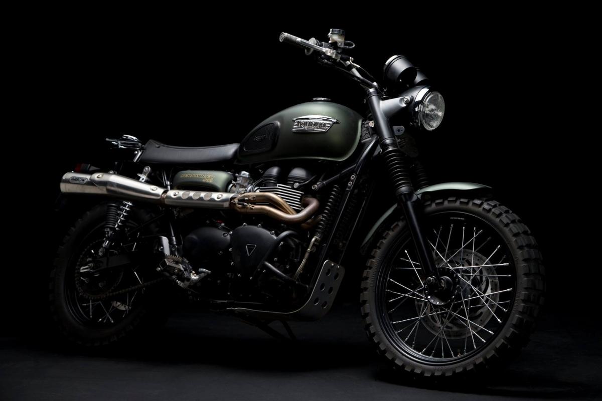 ジュラシックワールド バイク スクランブラー!