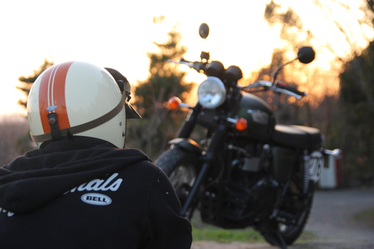 相棒バイク スクランブラー