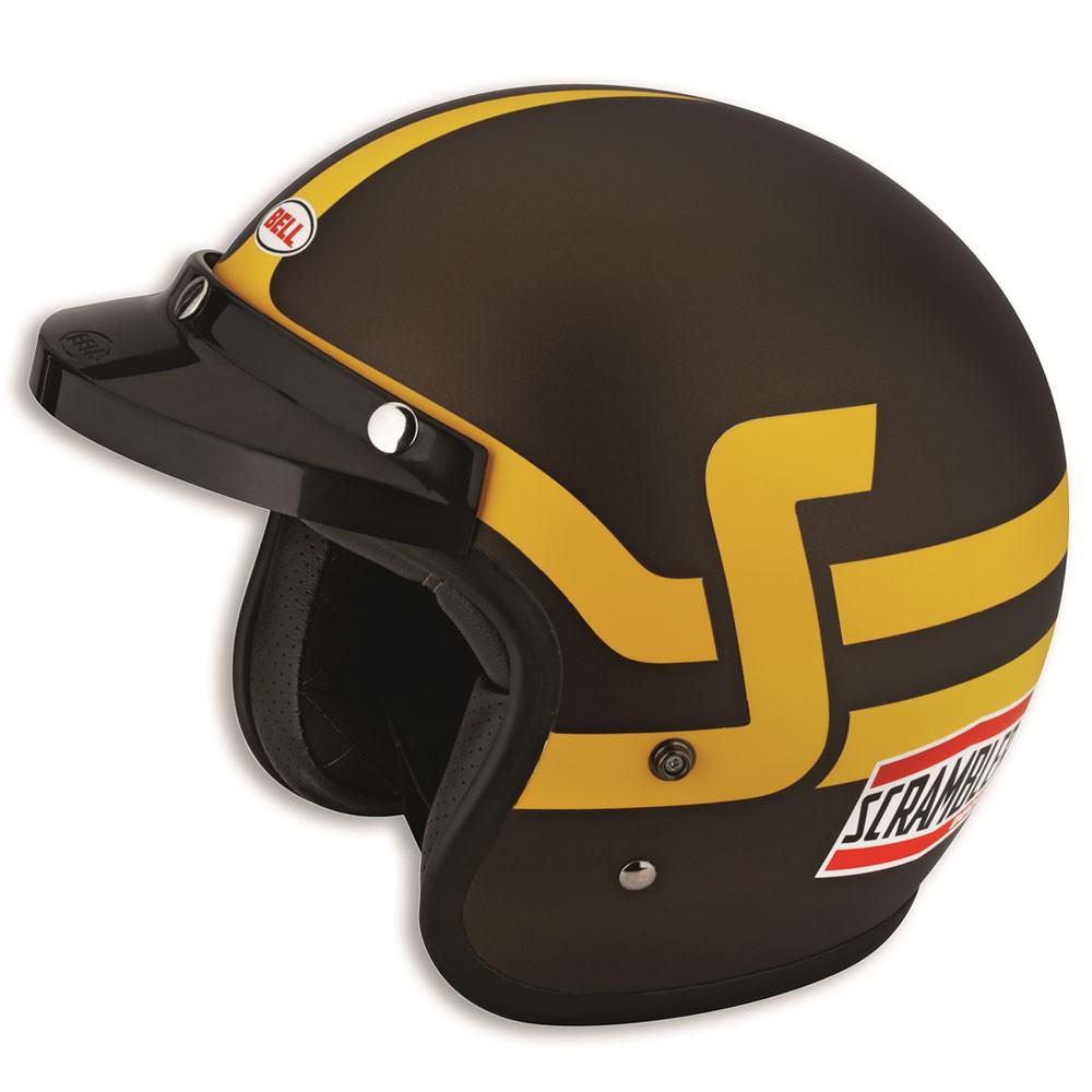 ドゥカティ スクランブラー ヘルメット ブラウン