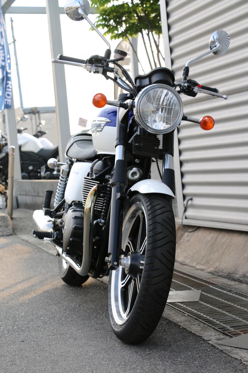 トライアンフ ボンネビルは英国紳士なバイク!