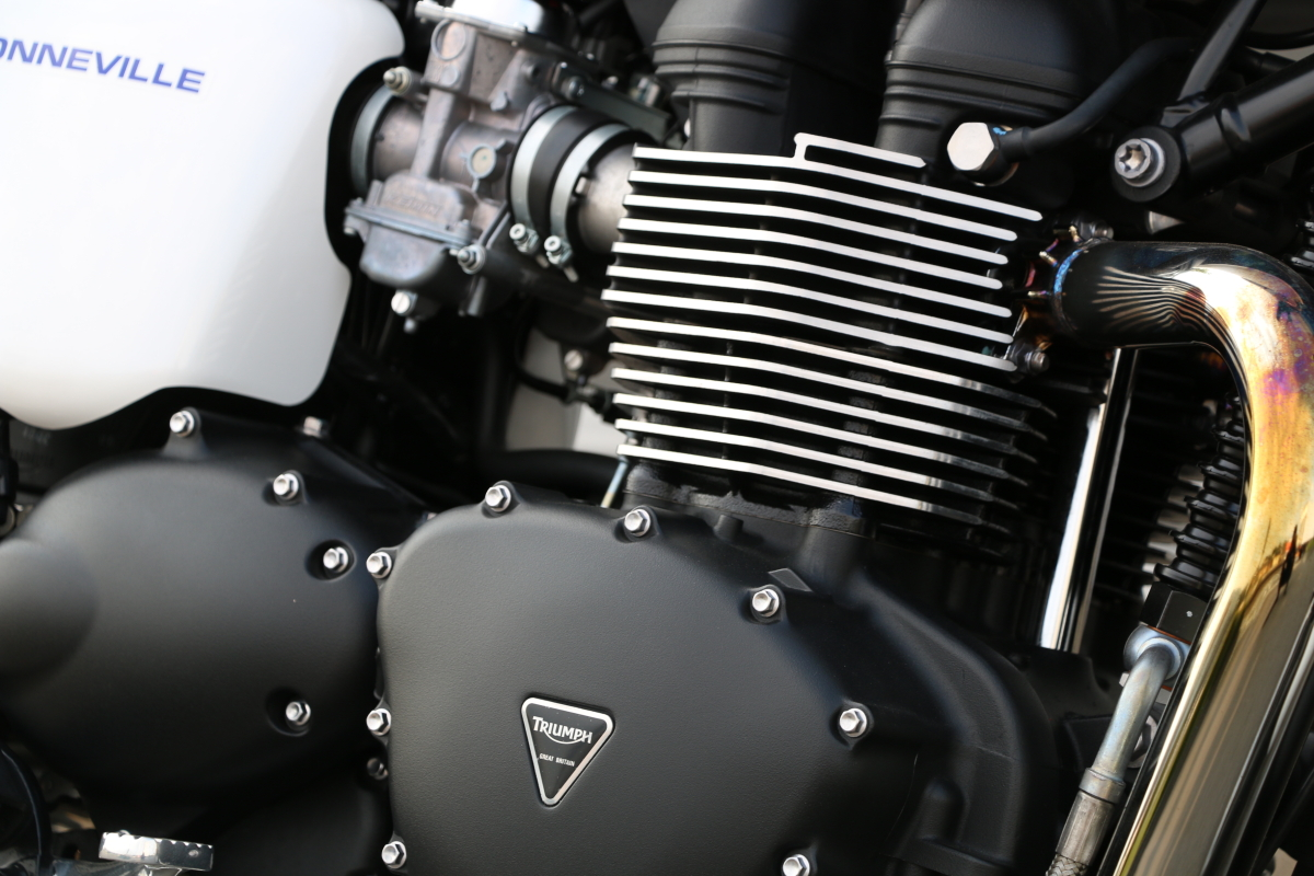 トライアンフ ボンネビルのエンジン