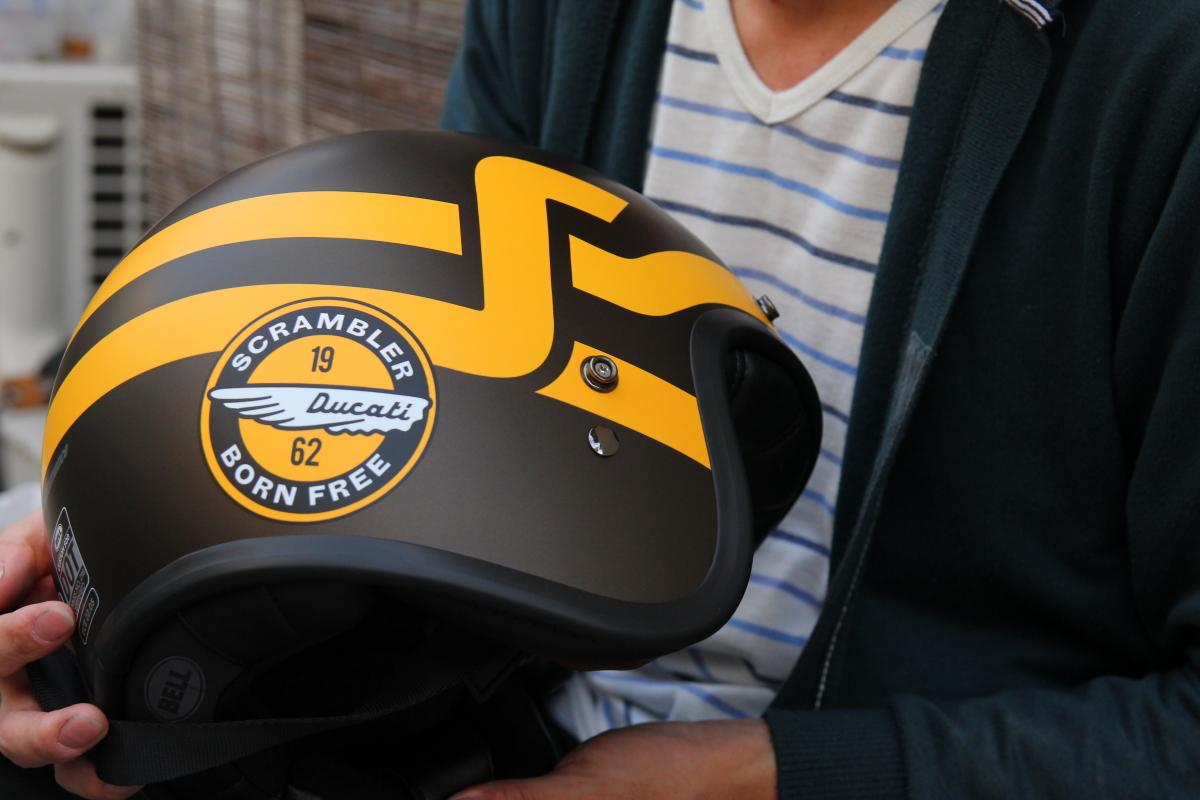 ducati scrambler helmet