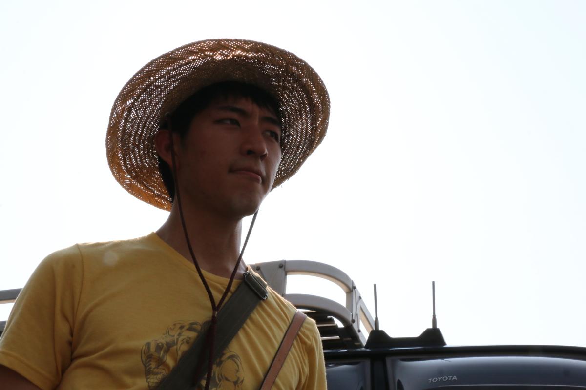 ランクルで広島へ