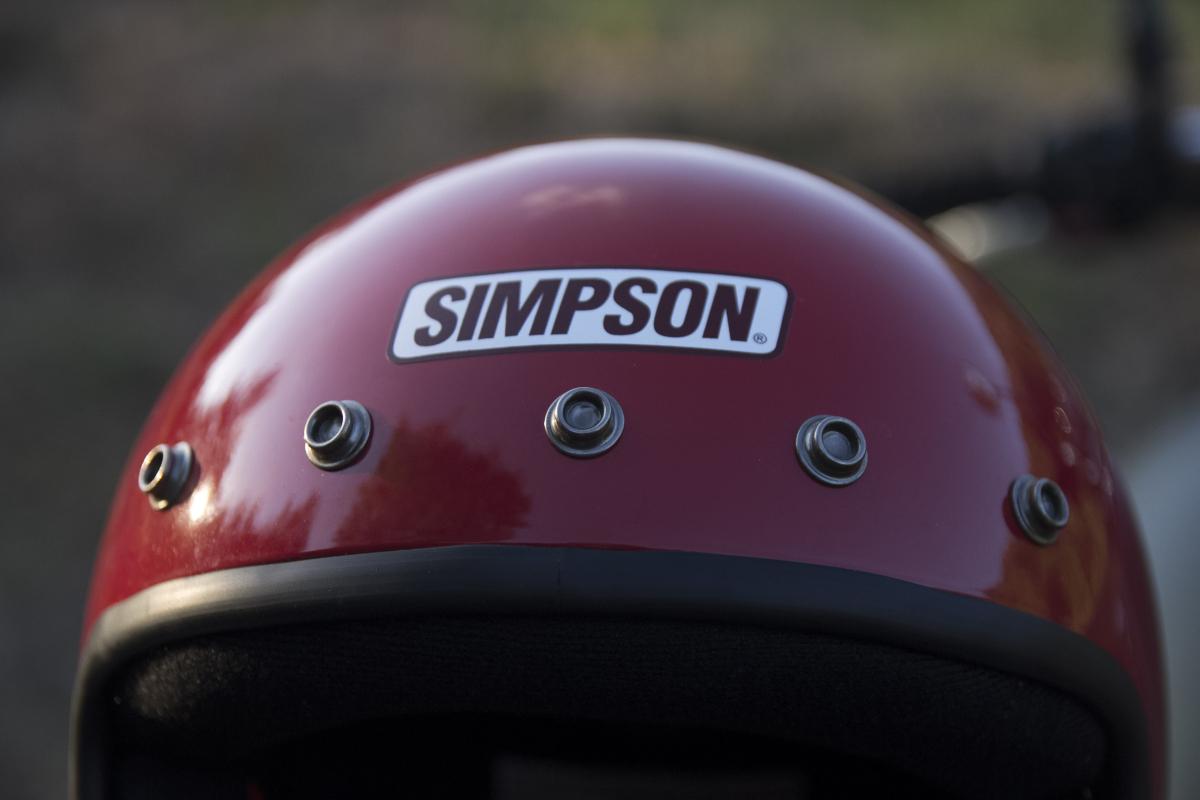 SIMPSON M50 スナップボタン