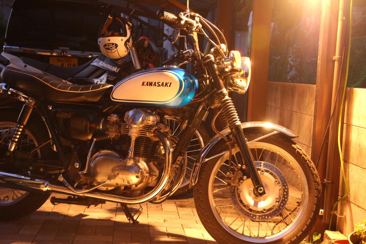 60年代な香りバイク