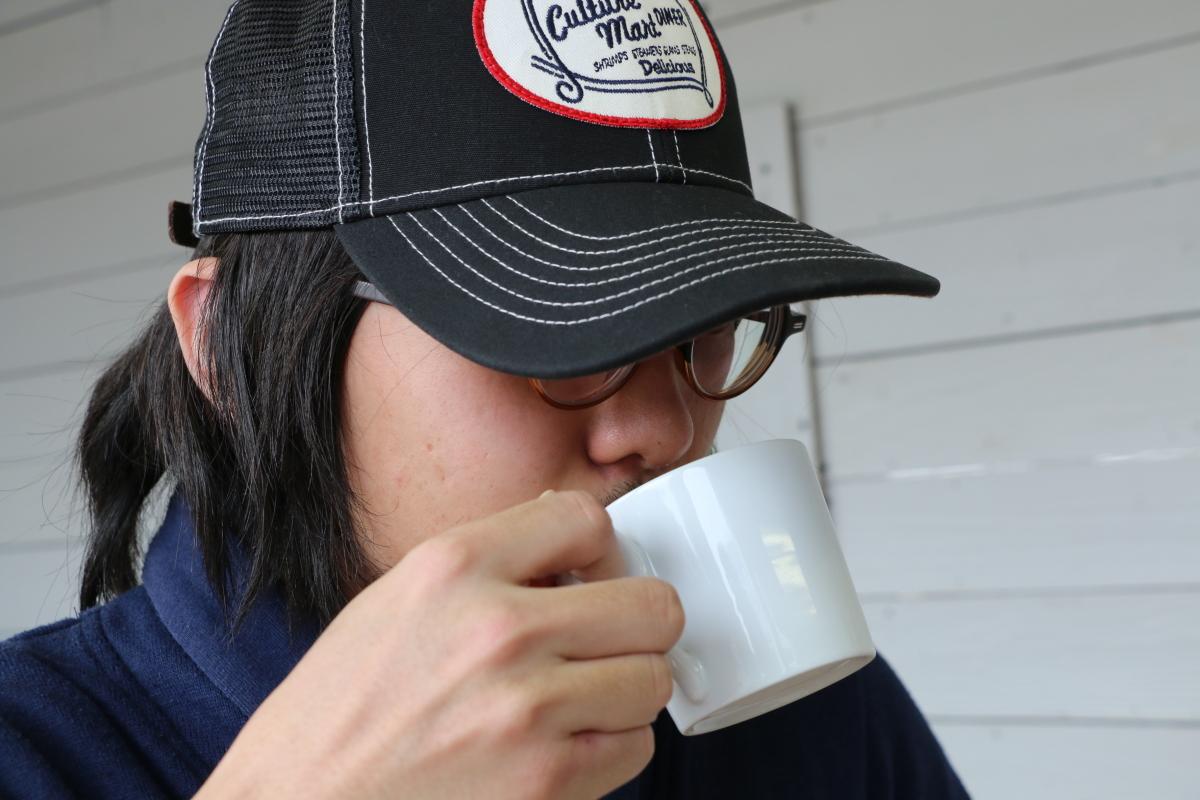 トライアンフ岡山で紅茶