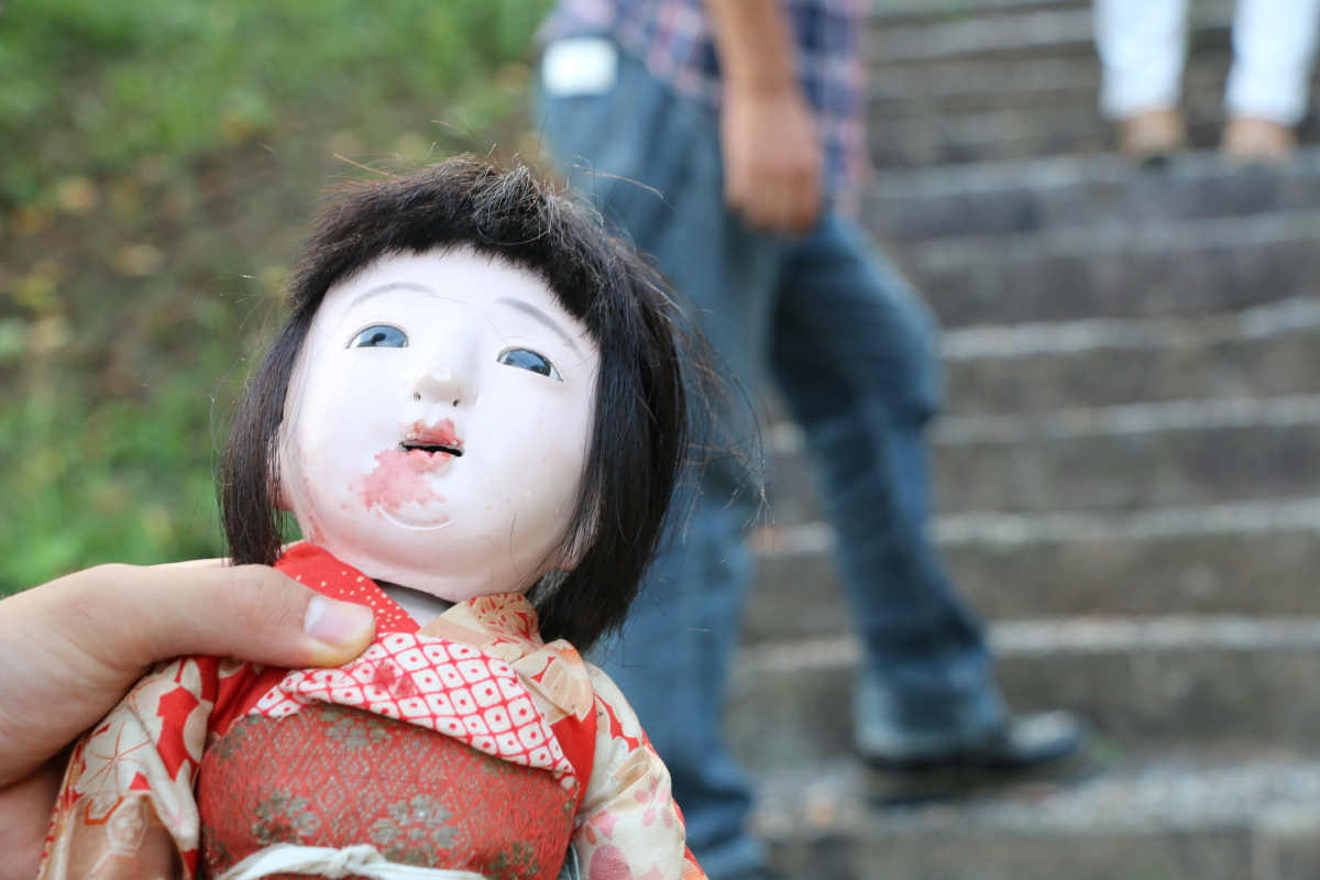恐怖の市松人形