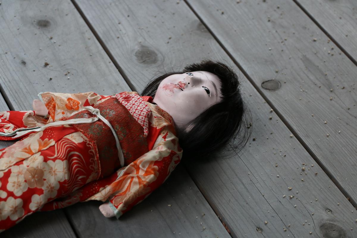 稲川淳二の生き人形!