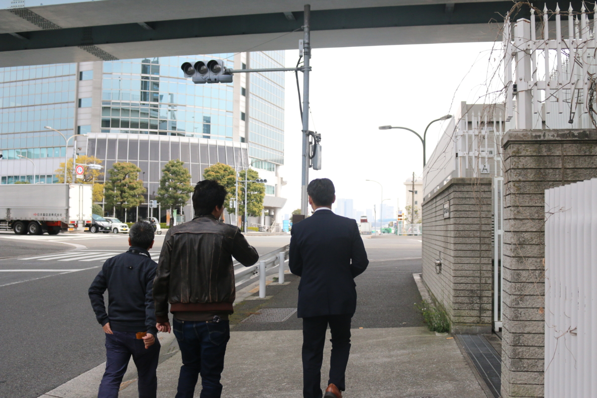 野田社長と鈴木さんとランチ