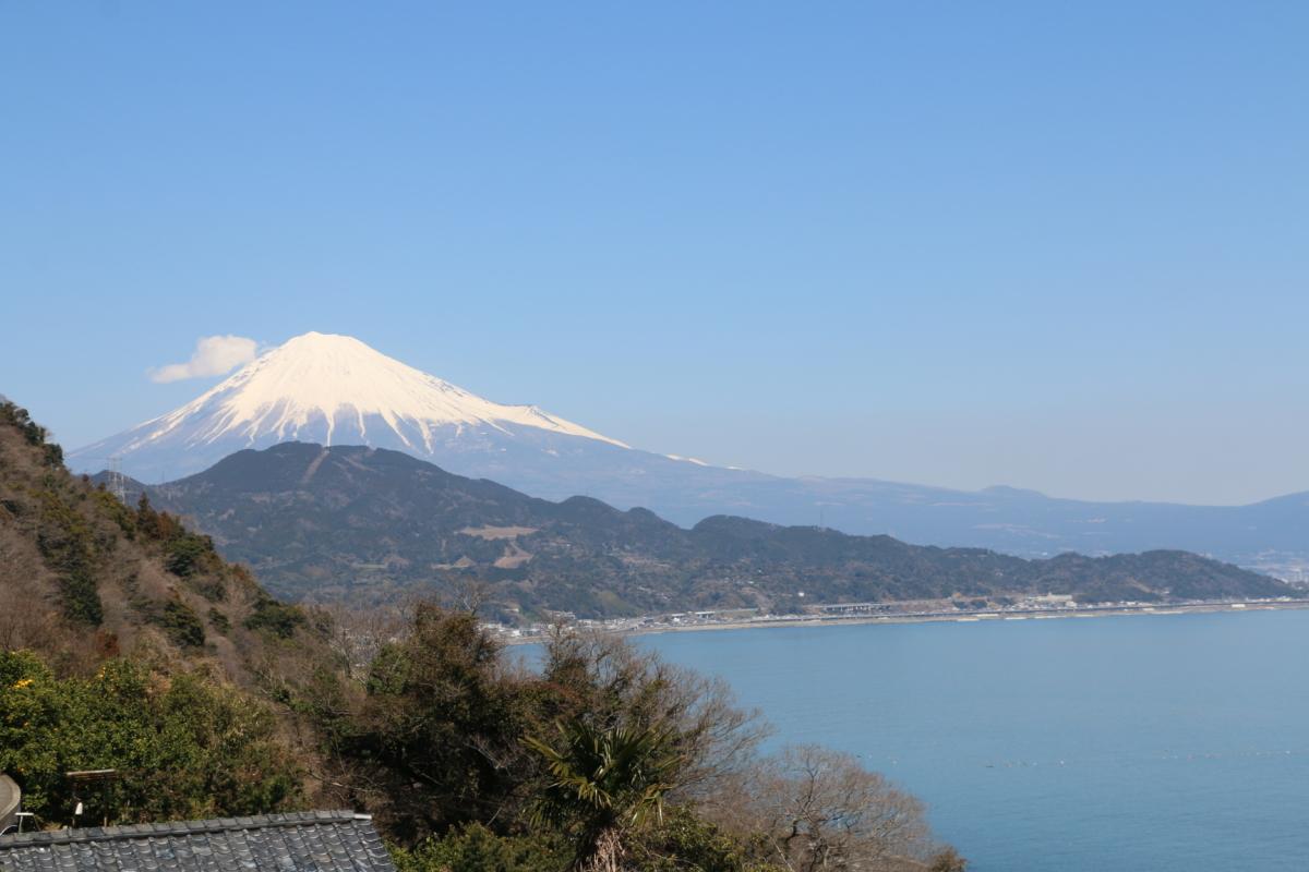 はじめて富士山をじっくり見た