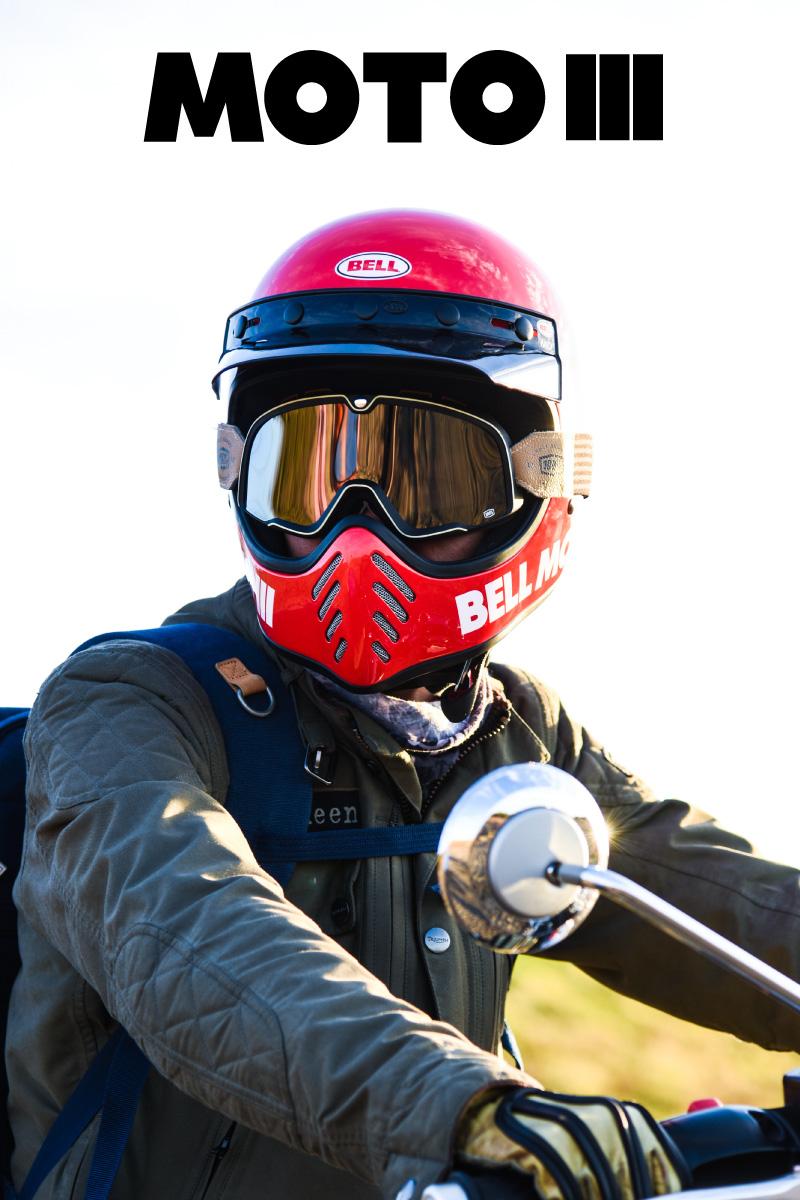 ヘルメット収集家のBELL MOTO3復刻版 辛口レビュー