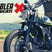 【インプレ】ドゥカティスクランブラー アーバンエンデューロに試乗してきた!軽くて遊べる!冒険旅バイクだ!