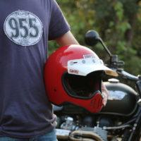 【レビュー】シンプソン製ヘルメット「SIMPSON M50」を購入!ビンテージモトクロスな雰囲気が渋い!