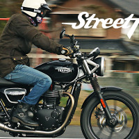 【インプレ】トライアンフ ストリートツインに試乗!新型水冷エンジンの加速力が凄まじい!新時代のモダンクラシックだ!